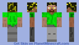 Steve With new clothes Minecraft Skin
