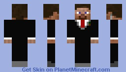 Steve w/ Suit - Skin Request Minecraft Skin