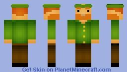 Leprechaun (request for Stew_pie_Joe) Minecraft Skin