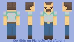 Jim Hopper | Stranger Things 3 Minecraft Skin