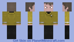 Mr Chekov, Star Trek 2009 Minecraft Skin