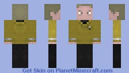 Captain Kirk  /  Star Trek 2009 Minecraft Skin