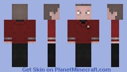 Mr Scott / Star Trek 2009 Minecraft Skin
