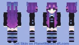 Stocking Anarchy - Panty & Stocking Minecraft Skin