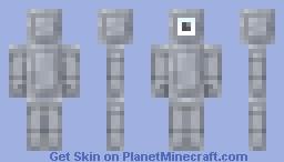 Aether Legends Stone Statue Minecraft Skin