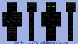 Stone Enderman Minecraft Skin
