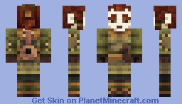 Lyric the Bard Minecraft Skin
