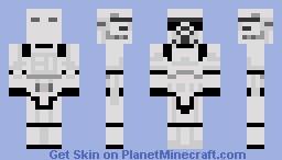 Star Wars: Storm Trooper Minecraft
