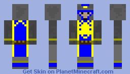 stormwind gaurd Minecraft Skin