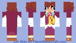 Strange Klug (Puyo Puyo) Minecraft Skin