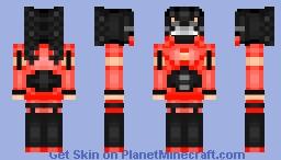 ♥ 𝕾𝖙𝖗𝖆𝖜𝖇𝖊𝖗𝖗𝖞 𝕲𝖆𝖘𝖍𝖊𝖘 (𝕸𝖔𝖓𝖔𝕰𝖞𝖊) ♥ Minecraft Skin