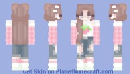 𝙨𝙩𝙧𝙖𝙬𝙗𝙚𝙧𝙧𝙮 𝙙𝙧𝙚𝙖𝙢𝙨 ✧:°☆*.🍓 Minecraft Skin