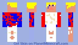 streat bum Minecraft Skin