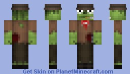 Stubbs the Zombie Minecraft