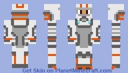 Cold Suit (Subnautica Below Zero) Minecraft Skin