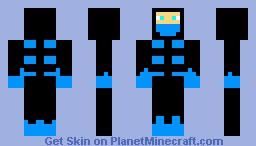 Sub Zero Minecraft Skin