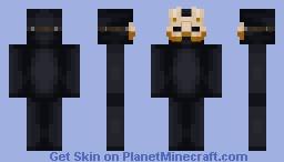 Masquerade Mask (Bioshock: Burial at sea)   Skin base Minecraft Skin