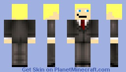 David in a suit Minecraft Skin