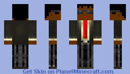 Man in a suit Minecraft Skin