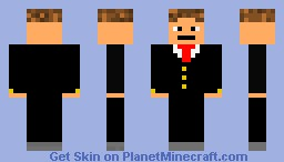 suited man comment if you download plz Minecraft Skin