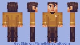 Mr. Sulu Star Trek TOS Minecraft Skin