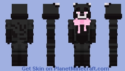 Sundae the Civet | Five Nights at Freddy's OC Minecraft Skin