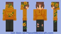 sunflowers Minecraft Skin