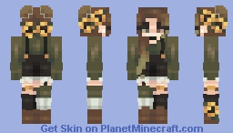 Sunflower Garden Minecraft Skin