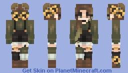 Sunflower Garden Minecraft Skin
