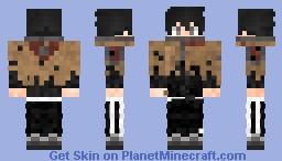 Sung Jin Woo Level 97 Minecraft Skin