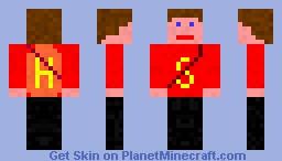 super hero Minecraft Skin
