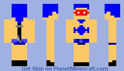 superdude Minecraft Skin