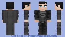 Superman | DCEU | Zack Snyder's Justice League | Black Suit Minecraft Skin