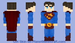 Kal-El/Clark Kent | Superman - Superman Returns Minecraft Skin