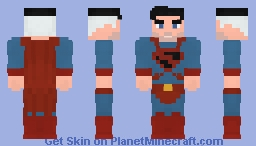 Superman - Clark Kent - Future State Minecraft Skin