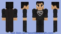 Superman - Black Suit Minecraft Skin