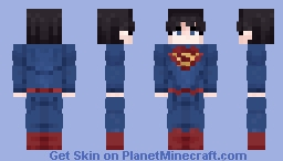 { Superman - For Optifine Cape } Minecraft Skin