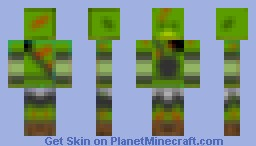 Fallout 3 Super Mutant Minecraft Skin