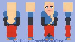 Superwoman - Kara Zor-El - Future State Minecraft Skin
