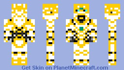 Royal Glorious Knight, Supreme Mode Minecraft Skin