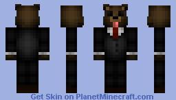 bear-> Suit Minecraft Skin