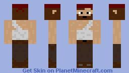Survivor with bandage Minecraft Skin