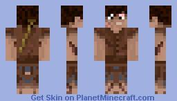 Survivor with a STICK! Minecraft Skin