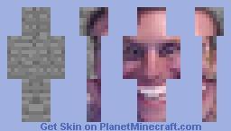 SUS Jerma  Stone Minecraft Skin