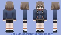 Suzuha Amane [Steins;Gate] Minecraft Skin