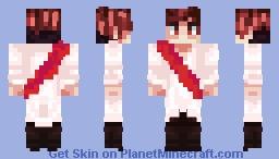 Roman Sanders - Creativity (SvS outfit) Minecraft Skin