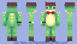 A Very Dapper Froggy | Skin Trade Minecraft Skin