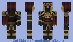Three Lions Knight [LOTC] Minecraft Skin