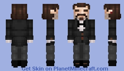 Swann the Butler Minecraft Skin