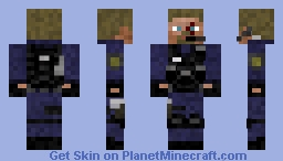 SWAT (Team Captain) Minecraft Skin